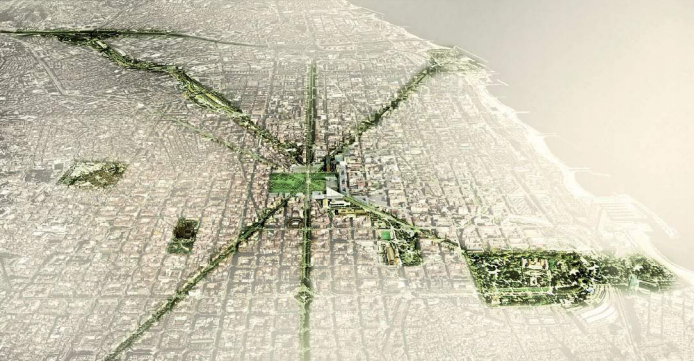 Barcelone green infrastructure and biodiversity plan 2020, Barcelona City Council