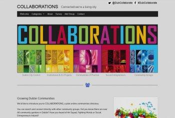 Collaboration website