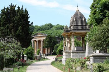 Arnos Vale Cemetery - credit to Bristol City Council