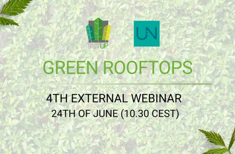 Webinar on green rooftops